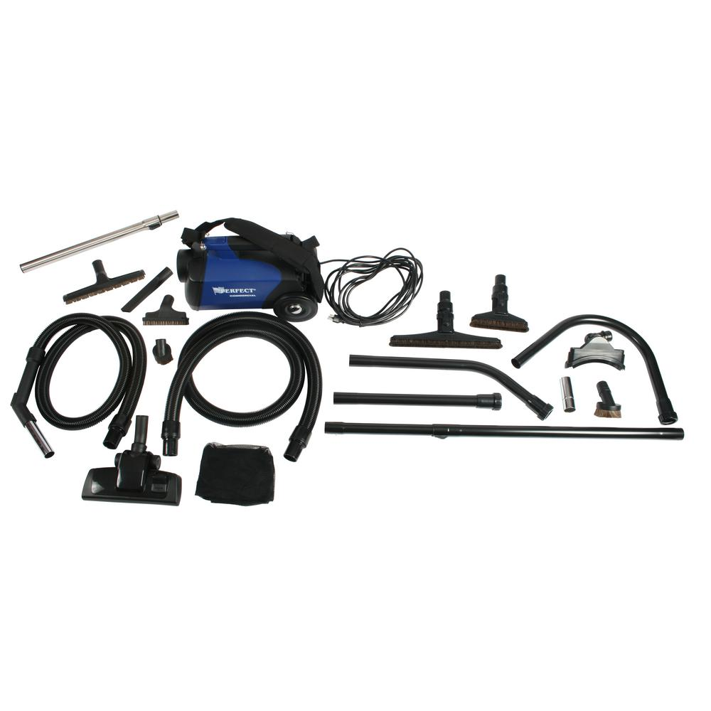 Cen-Tec C105 Canister Vacuum and 12 ft. High Reach Accessory Kit
