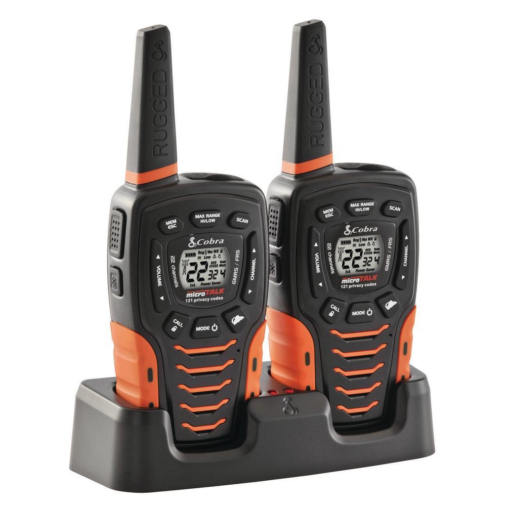 Cobra 35-Mile Range 2-Way Radio