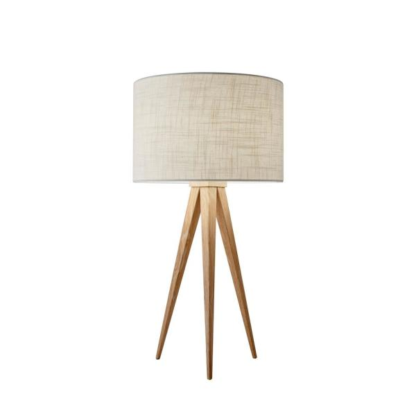 26 in. Natural Director Table Lamp