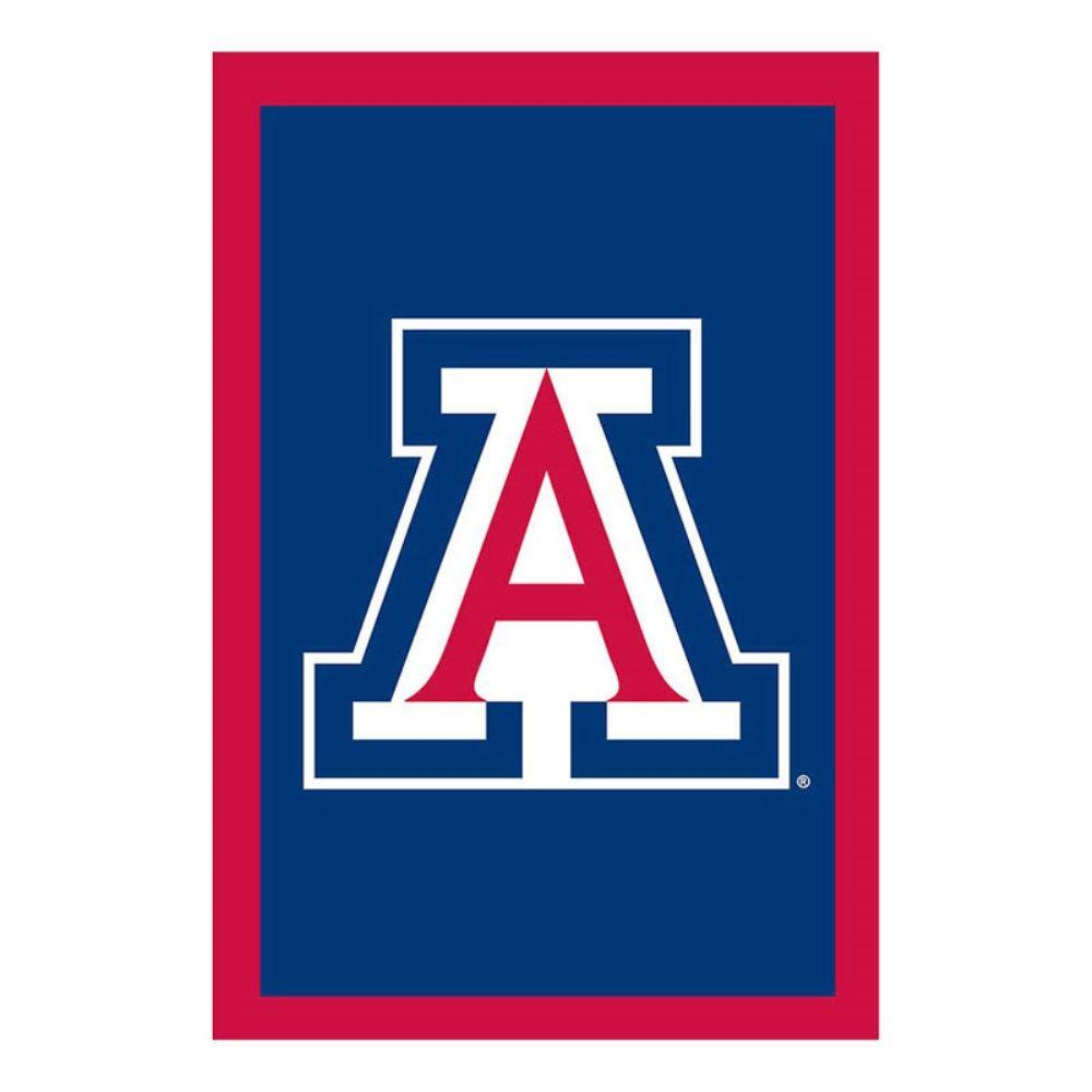 Fan Essentials NCAA 28 in. x 44 in. University of Arizona Applique House Flag