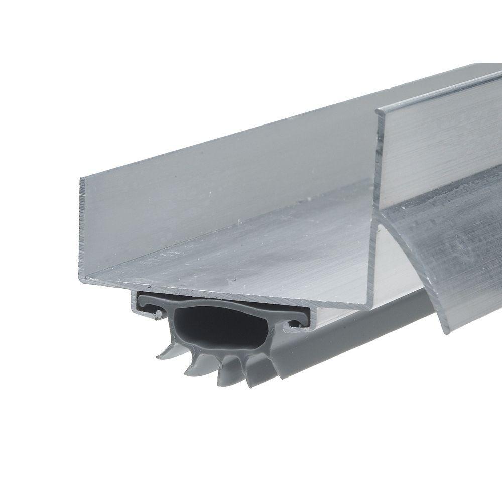 Frost King 1 3 4 In X 36 In Silver Drip Cap Door Bottom