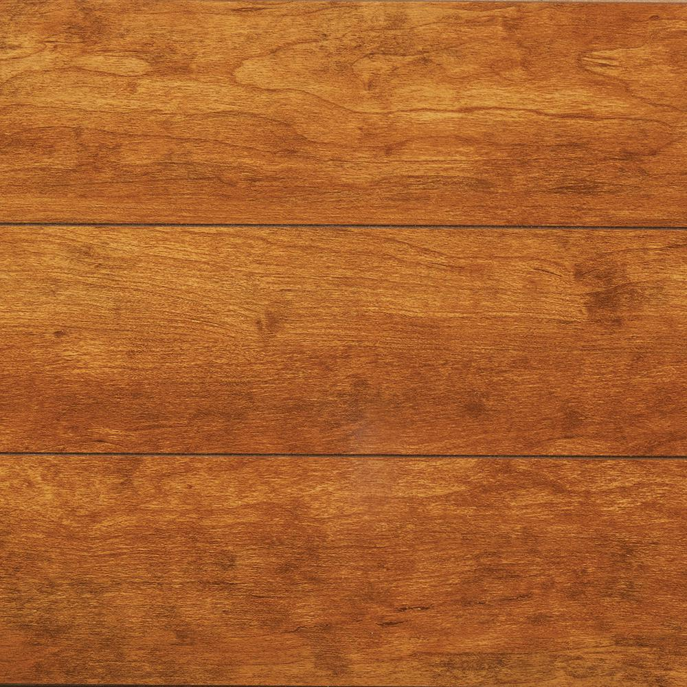 Take Home Sample - High Gloss Rosen Cherry Laminate Flooring -
