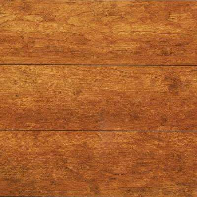 Take Home Sample - High Gloss Rosen Cherry Laminate Flooring - 5 in. x 7 in.