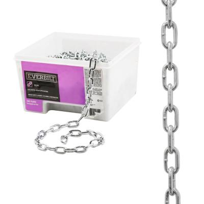 3/16 in. x 100 ft. Grade 30 Zinc Plated Steel Proof Coil Chain