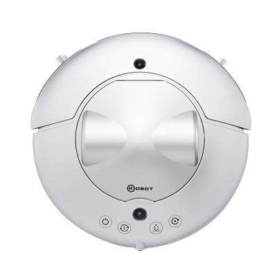 Cyclone Series Robot Vacuum for Pet Hairs, Area Rugs and Carpets in Silver