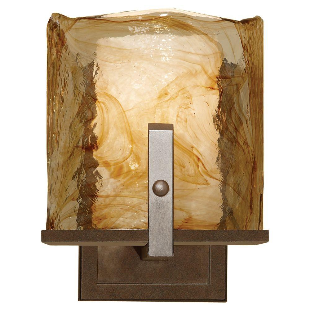 Aris 1-Light Roman Bronze Sconce