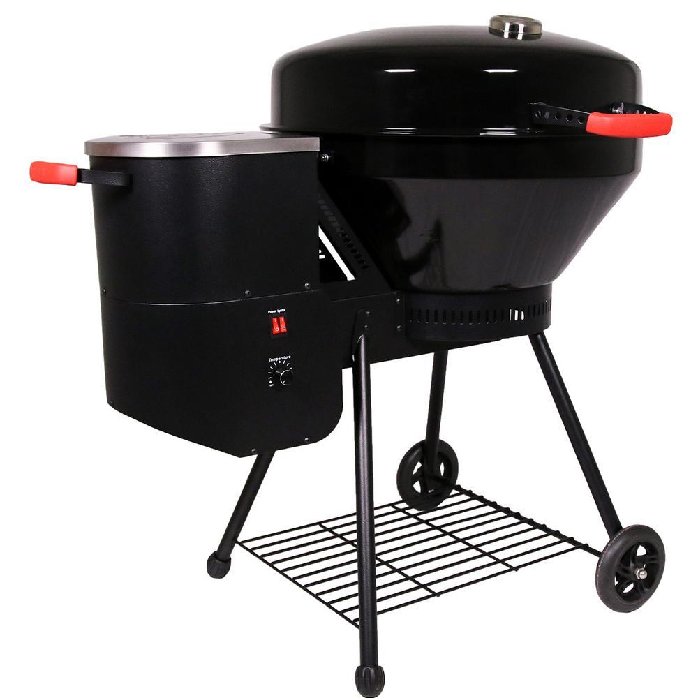 Bullseye Kettle Style Wood Pellet Grill in Black