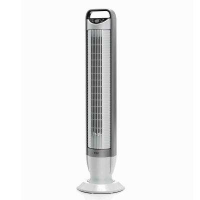 UltraSlimline 40 in. Oscillating Tower Fan with Tilt Feature