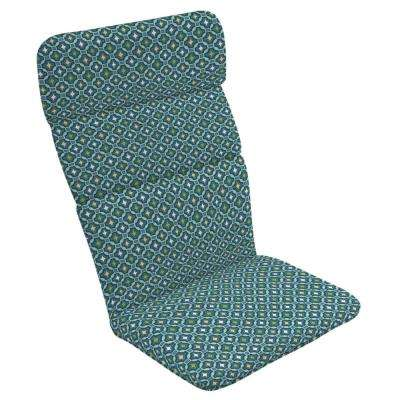 20 x 17 Alana Tile Outdoor Adirondack Chair Cushion