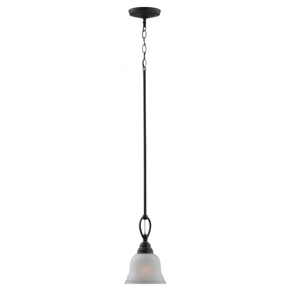 Sea Gull Lighting Wheaton 1-Light Heirloom Bronze Mini Pendant-61625-782 - The Home Depot  sc 1 st  Home Depot & Sea Gull Lighting Wheaton 1-Light Heirloom Bronze Mini Pendant ... azcodes.com