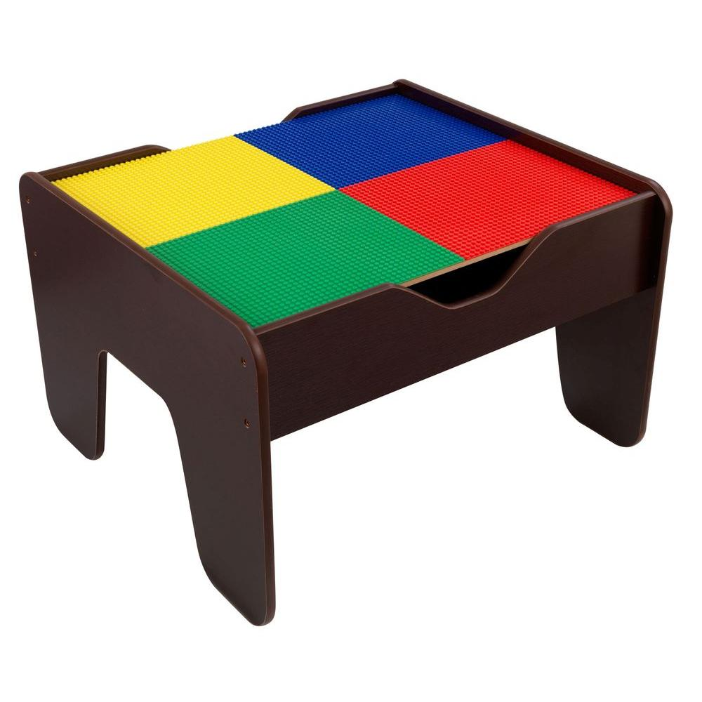 Kidkraft Espresso 2 In 1 Activity Table With Board Playset