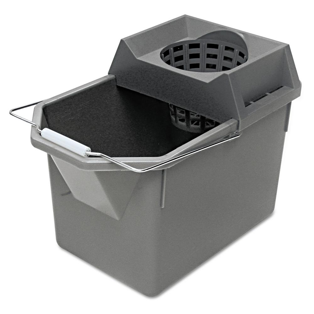 Rubbermaid Commercial Products 15 Qt. Pail and Mop Strainer ... c6ce04f5393b