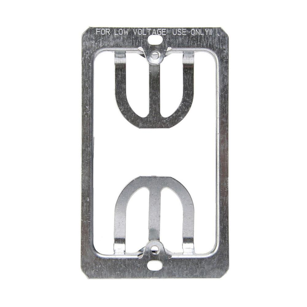 Leviton 1-Gang Low Voltage Wallplate Mounting Brackets-C0224 - The ...