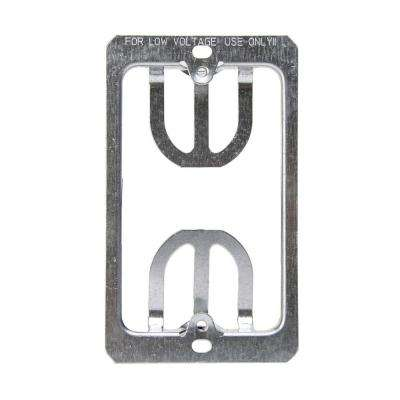 1-Gang Low Voltage Wallplate Mounting Brackets