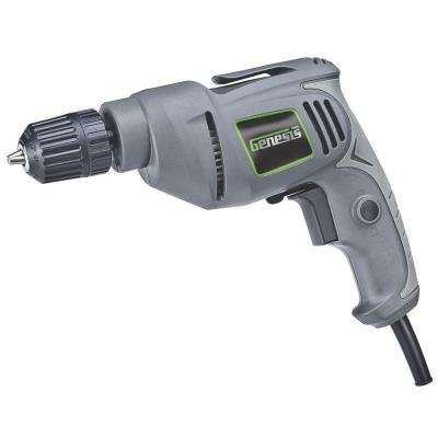 3/8 in. 4.2 Amp Corded Variable Speed Reversible Electric Drill