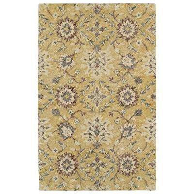 Weathered Gold 9 ft. x 12 ft. Indoor/Outdoor Area Rug
