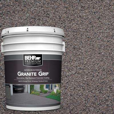 5 gal. #GG-03 Atlantic Topaz Decorative Flat Interior/Exterior Concrete Floor Coating