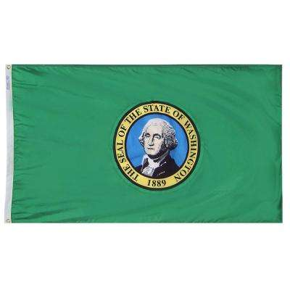 3 ft. x 5 ft. Washington State Flag