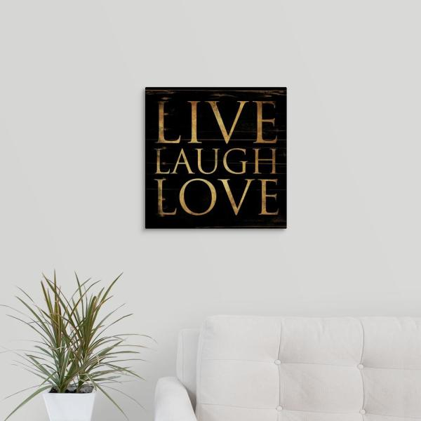 Greatcanvas Live Laugh Love By Jace Grey Canvas