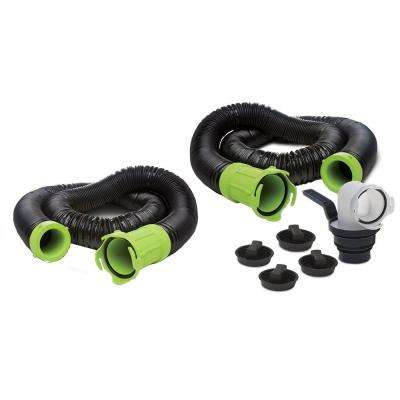 Titan Premium 20 ft. RV Sewer Kit in Black