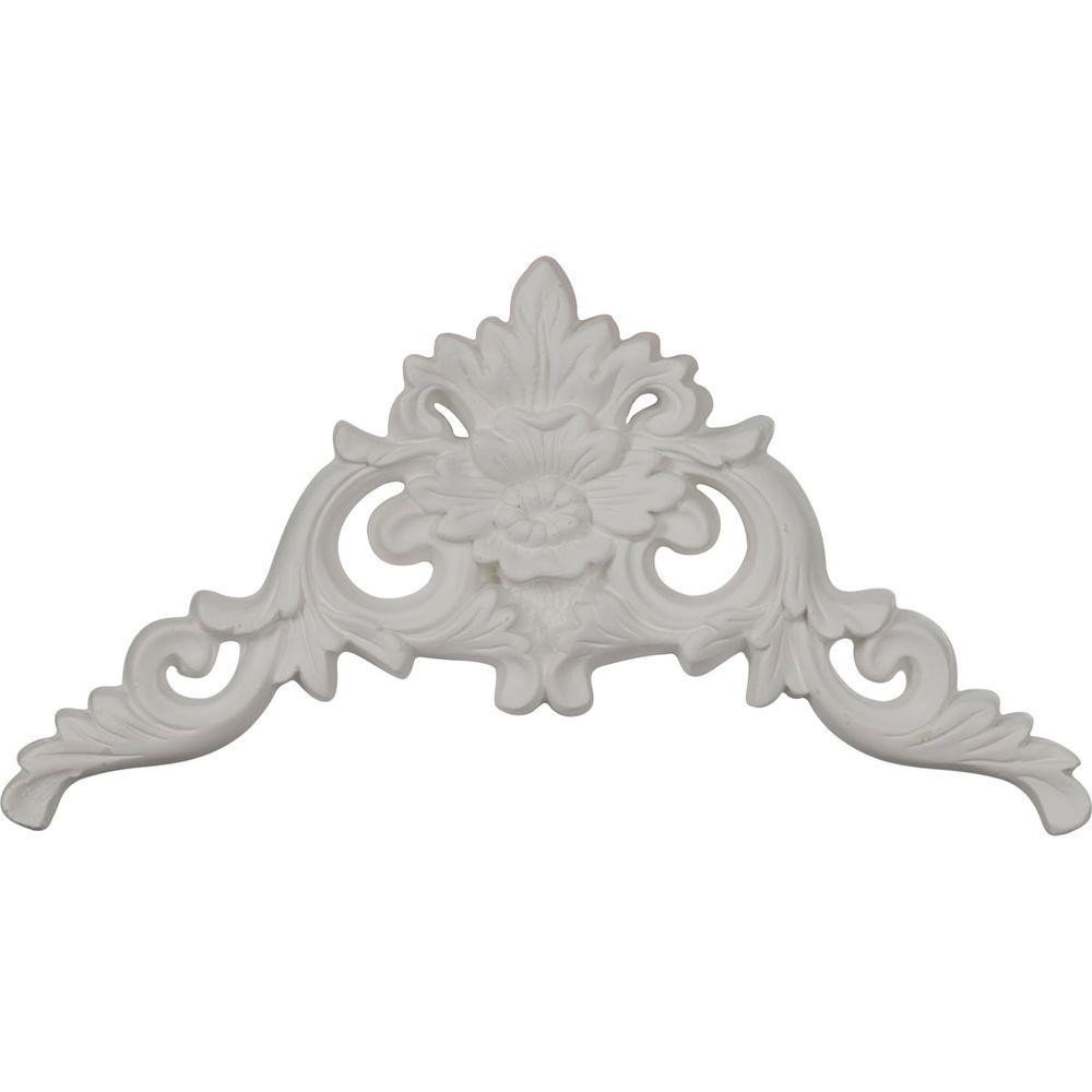 11-7/8 in. x 6-1/4 in. x 7/8 in. Polyurethane Versailles Large
