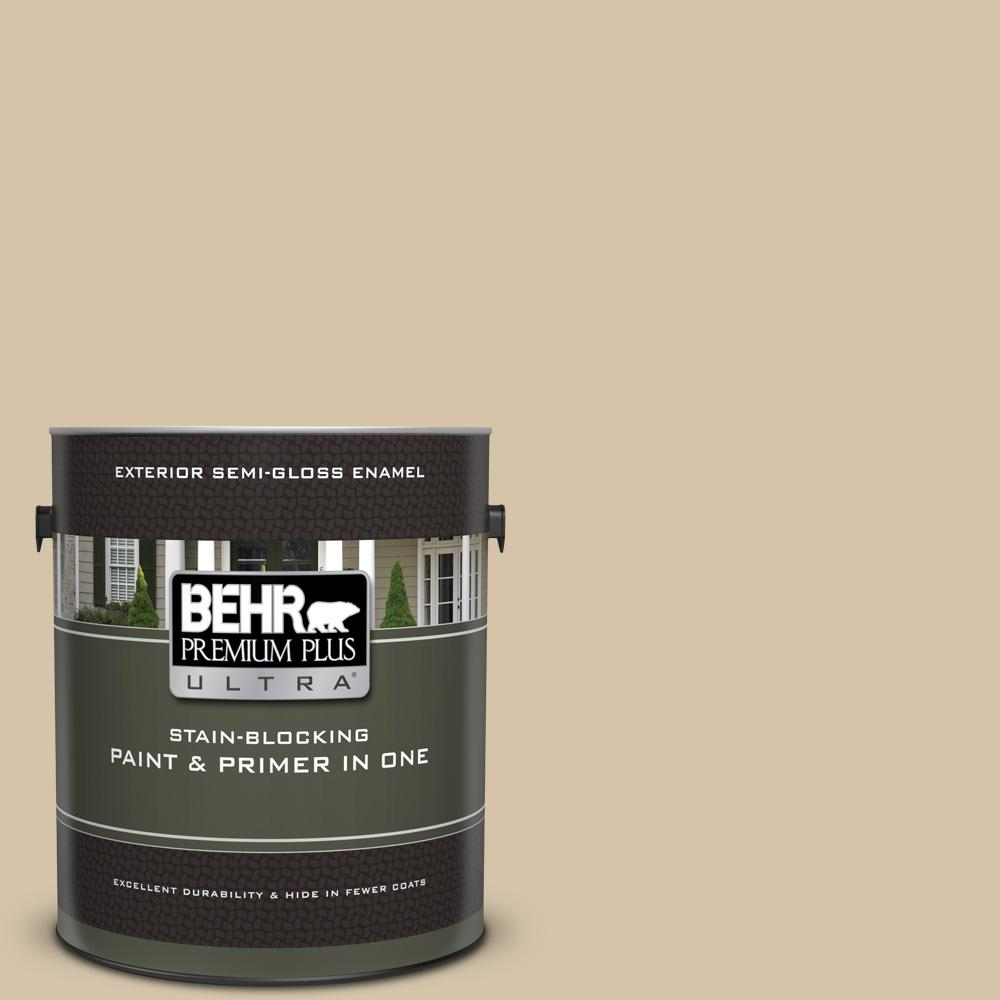 Behr Premium Plus Ultra 1 Gal Icc 60 Brown Bread Semi Gloss