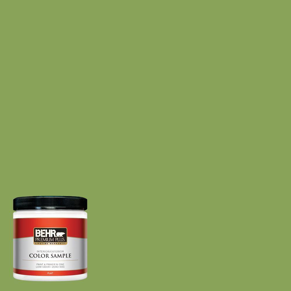 BEHR Premium Plus 8 oz. #P370-6 Salamander Interior/Exterior Paint Sample