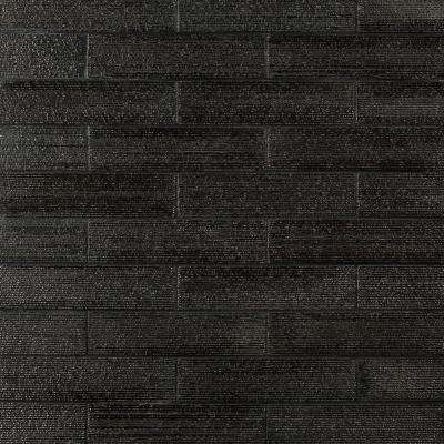 Weston Ridge Silver 2 in. x 9 in. 11mm Glazed Clay Subway Wall Tile (33-piece 5.64 sq. ft. / box)