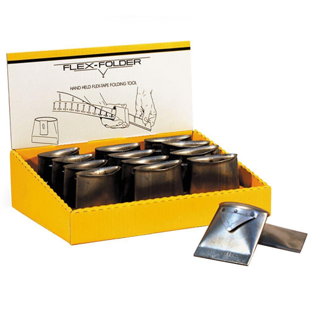 Flex-Folder 3-7/16 inch Hand-Held Drywall Tape Folder