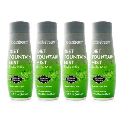 440 ml Fountain Style Sparkling Diet Fountain Mist Drink Mix (4-pack)