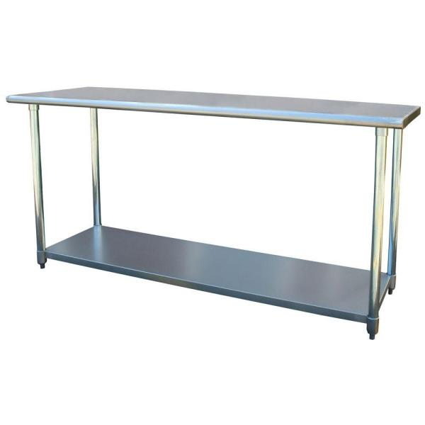 Sportsman Stainless Steel Kitchen Utility Table SSWTABLE72