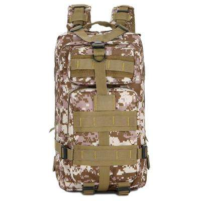 FK9251 30L 3P Outdoor Marching Knapsack Tactical 9 in. Desert Camouflage Backpack