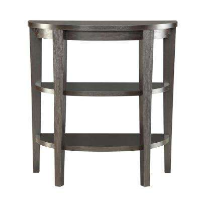 Newport 3-Shelf Espresso Console Table