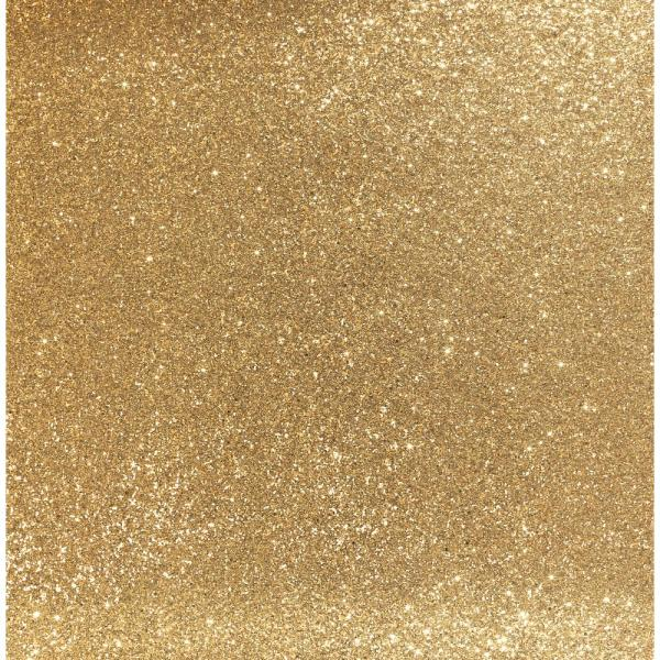 Arthouse 6m Sequin Sparkle Gold Metallic Glitter Paste the Wall Wallpaper 900902