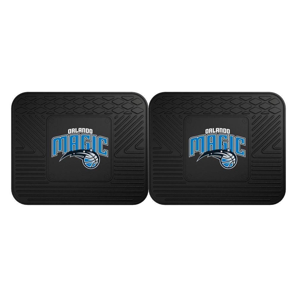 Sacramento Car Rental >> FANMATS NBA Orlando Magic Black Heavy Duty 2-Piece 14 in. x 17 in. Vinyl Utility Mat-12383 - The ...