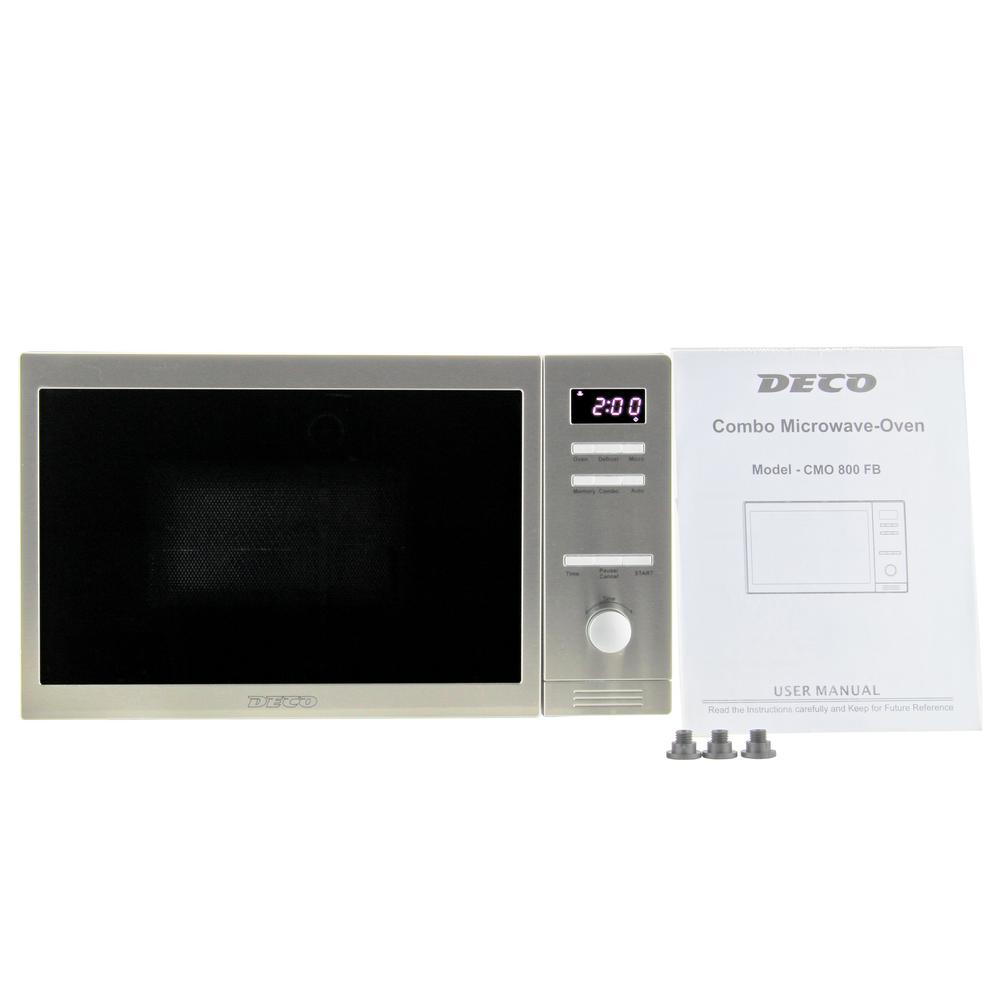 Countertop Combo Microwave Oven With Auto Cook And Memory Function