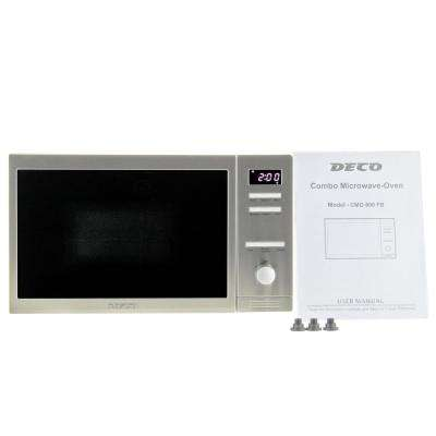 0.8 cu. ft. Countertop Combo Microwave Oven with Auto Cook and Memory Function