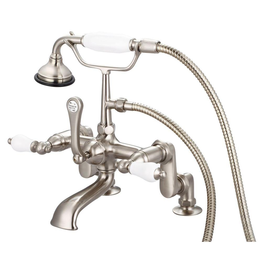 Clawfoot Tub Faucet With Handheld Shower | Home Design Plan