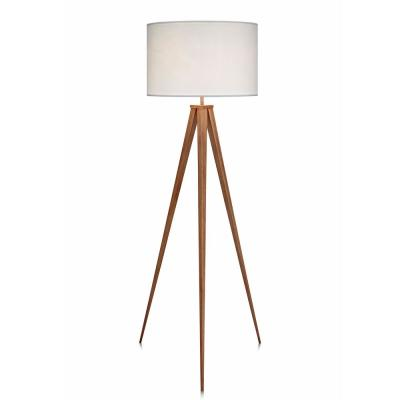 Romanza Tripod Floor Lamp with White Shade