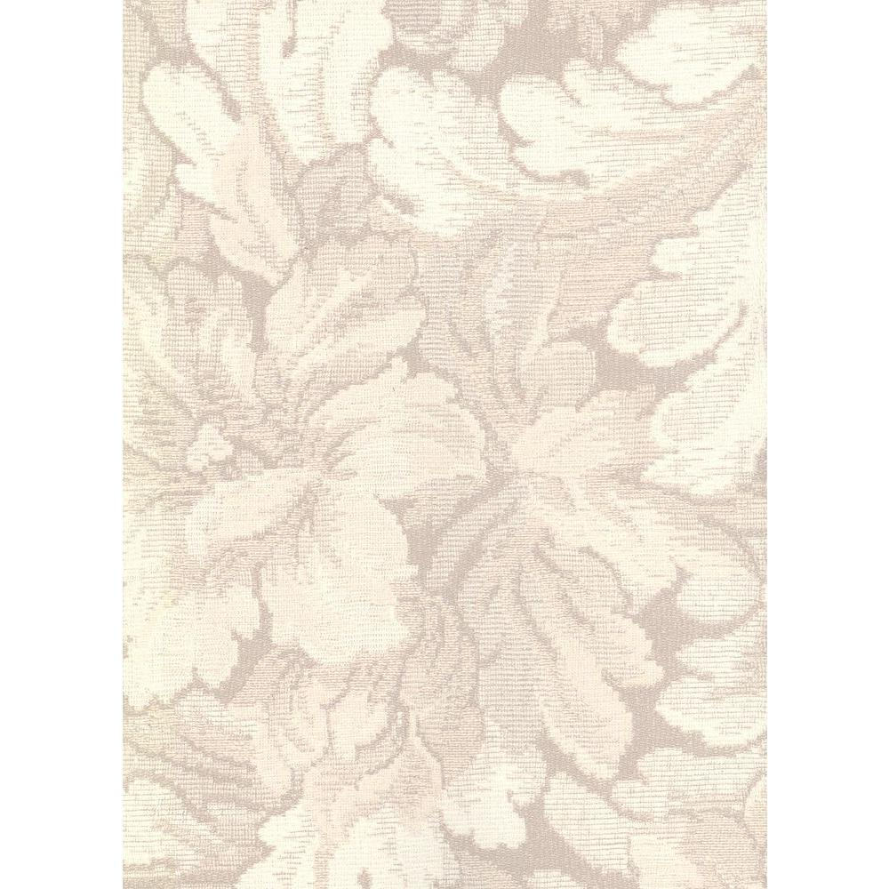 null 56 sq. ft. Traditional Floral Design Wallpaper