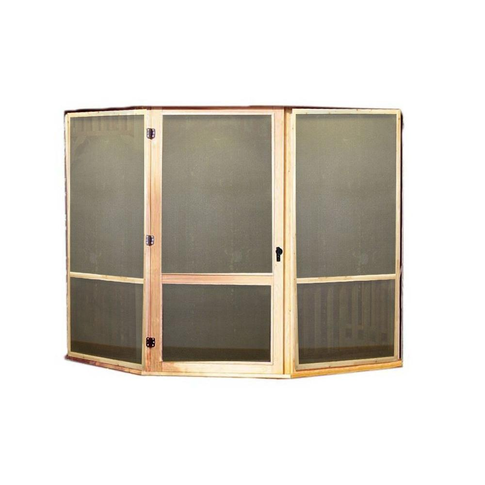 Handy Home Products San Marino 10 ft. Screens with Door Kit