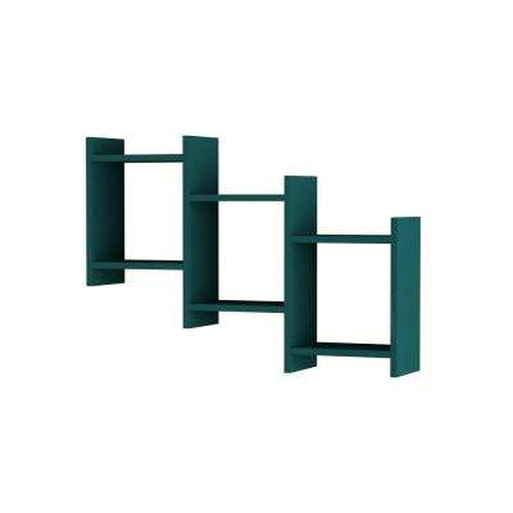 Wilwood Turquoise Modern Wall Shelf