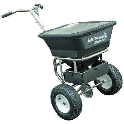 100 lbs. Capacity Stainless-Steel Walk-Behind Spreader