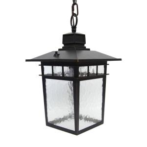 Y Decor Cullen 1 Light Oil Rubbed Bronze Outdoor Hanging Lantern El2072lhiorb The Home Depot