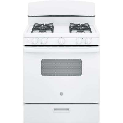 30 in. 4.8 cu. ft. Gas Oven in White