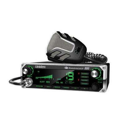CB Radio with Multi-color LCD