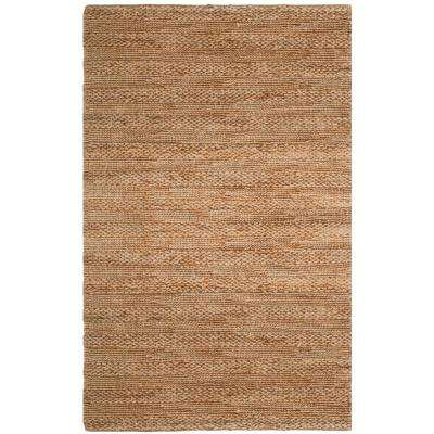 Natural Fiber Tan 6 ft. x 9 ft. Indoor Area Rug