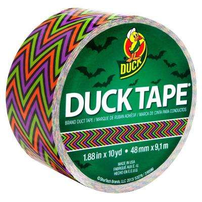 1.88 in. x 10 yds. Scary Chevron Duct Tape (6-Pack)