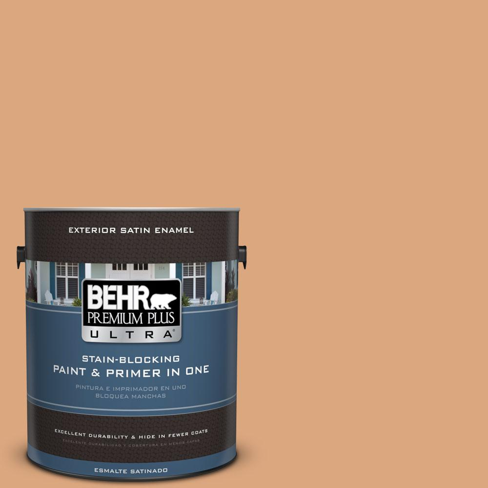 BEHR Premium Plus Ultra 1-gal. #PMD-97 Eastern Spice Satin Enamel Exterior Paint