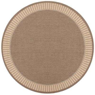 Round Brown Outdoor Rugs Rugs The Home Depot